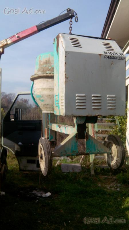Betoniera 500 litri usata