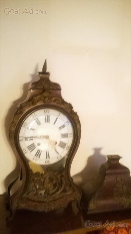 Orologio pendolo tavolo antico perfettamente funzionante - Orologio da tavolo antico ...