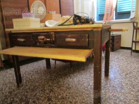 Tavolo cucina marmo mattarello spianatoia cassetti - Cerca, compra ...
