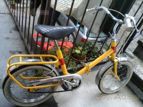 Bicicletta pieghevole peugeot vintage tipo graziella for Graziella sport