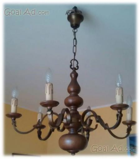 Lampadario ottone vendo vintage info chiamare - Cerca, compra, vendi nuovo e ...