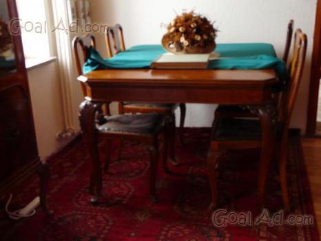 Sedie Stile Chippendale : Tavolo stile chippendale marmo sedie 1950 cerca compra vendi