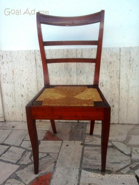 Antica sedia ferro cuoio molto conservata cerca compra for Sedia ufficio antica
