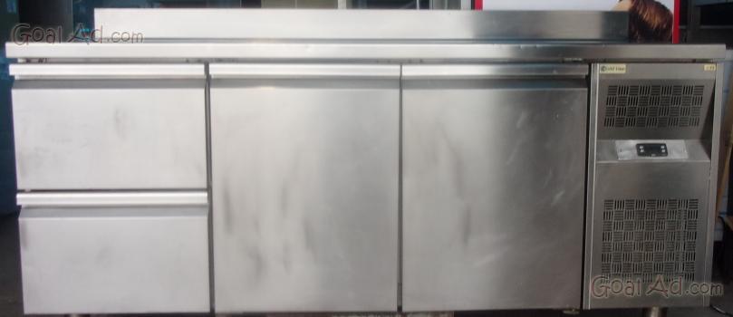 Tavolo frigorifero tavolo frigo refrigerato ventilato cerca compra vendi nuovo e usato - Tavolo in acciaio inox usato ...