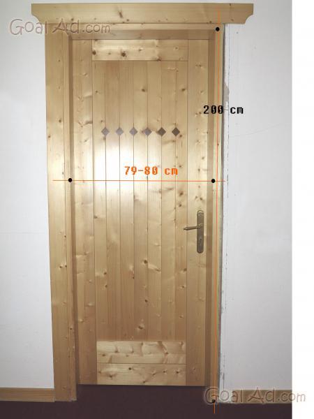 Porte interne vendo porte interne usate cerca compra vendi nuovo e usato porte interne - Porte in legno usate ...