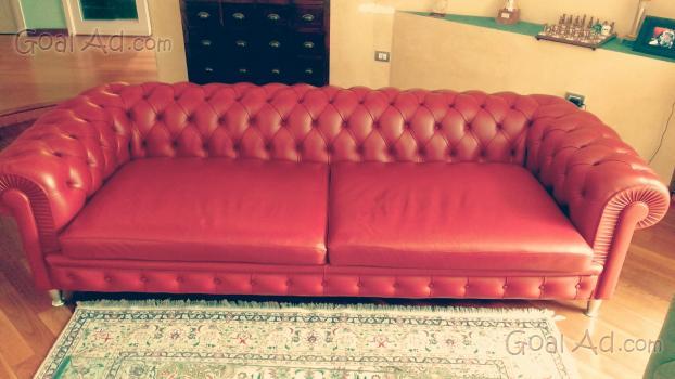 Divano pelle frau divano vintage pelle cerca compra vendi nuovo e usato divano pelle frau - Divano chester frau ...