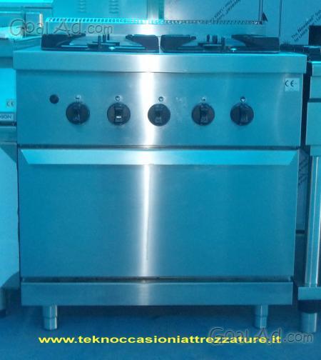 Cucina fuochi serie forno zanussi teknoccasioni cerca for Cucina 6 fuochi zanussi usata